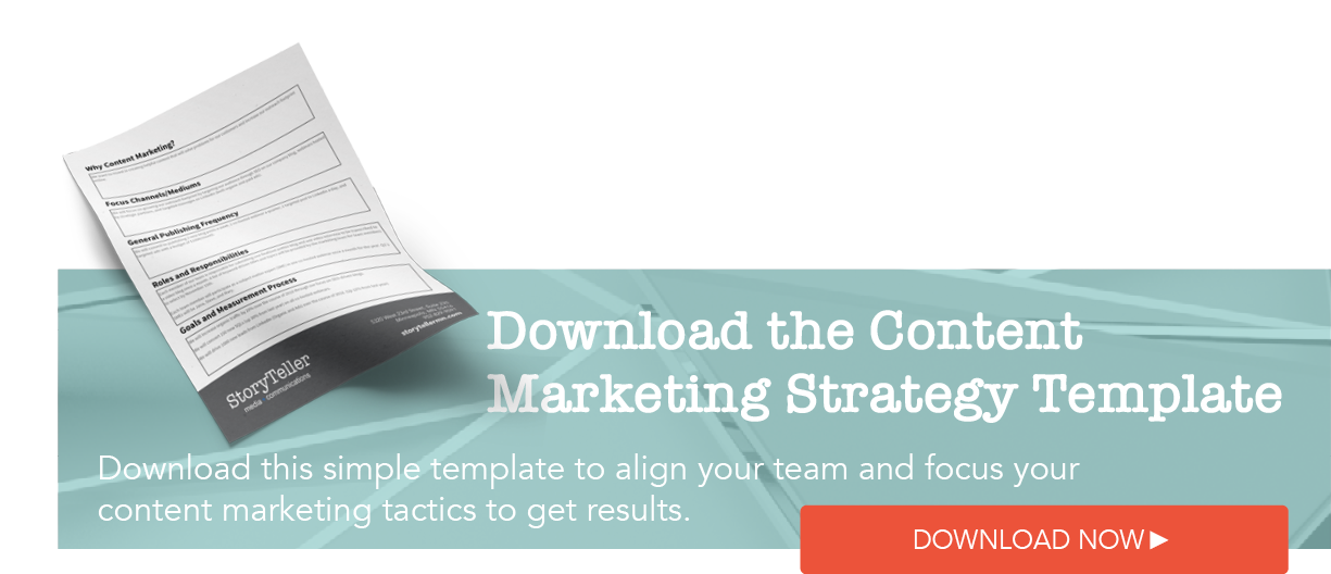 Content Marketing Strategy Worksheet Download